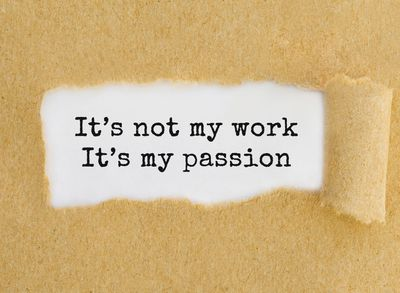 It's not my work, It's my passion